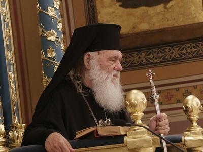 Νοσηλεύεται στο Ωνάσειο ο Αρχιεπίσκοπος Ιερώνυμος