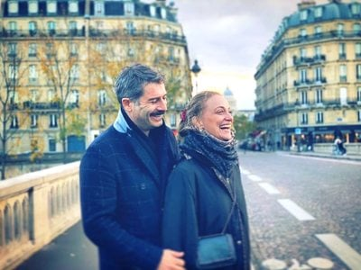 Αλέξανδρος Μπουρδούμης - Λένα Δροσάκη: Ζουν τον έρωτά τους στο Παρίσι