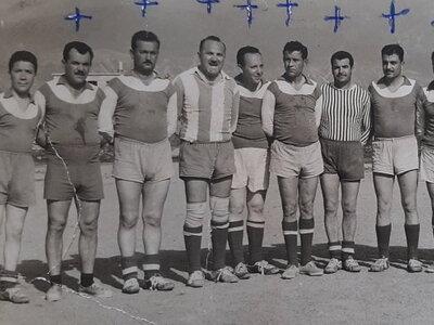 Οι Παλαίμαχοι ποδοσφαιριστές Πάτρας το 1...