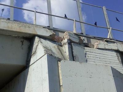 Κίνδυνος-θάνατος, λέει ο Τσελέντης, η γέφυρα της Περιμετρικής -ΦΩΤΟ