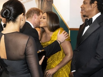 Η Beyonce έσπασε το βασιλικό πρωτόκολλο και επισκίασε τη Μέγκαν Μαρκλ
