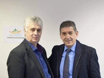 Ο Μιχάλης Σπυρόπουλος υποψήφιος με τον Γρηγόρη Αλεξόπουλο