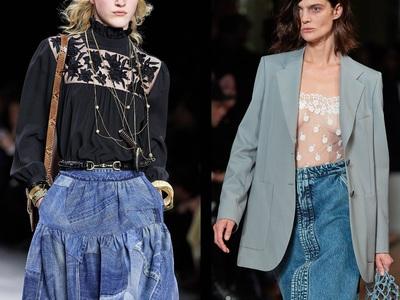 Η μεγάλη επιστροφή της τζιν φούστας (με ...