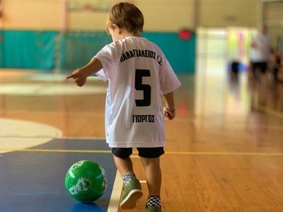 Στα σχολεία για την 6η Πανελλήνια Ημέρα Σχολικού Αθλητισμού ο Παναιγιάλειος - ΦΩΤΟ