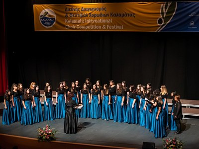 Ασημένιο μετάλλιο για τη χορωδία BelCantes Αγίου Ανδρέα Εγλυκάδας