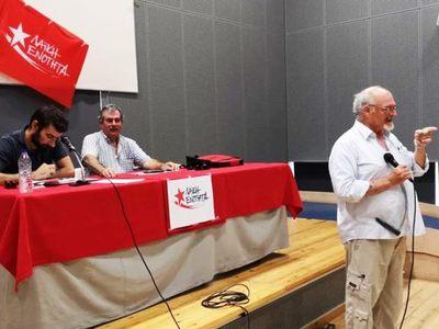 Έγινε η πρώτη προεκλογική συγκέντρωση της Λαϊκής Ενότητας στην Πάτρα