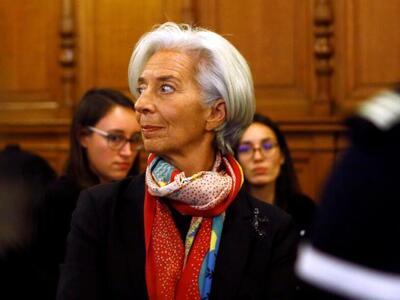 Κρ. Λαγκάρντ: Ύφεση -8,7% εως -12,6% αναμένεται στην ευρωζώνη