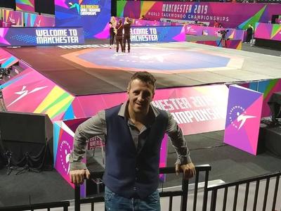 Στο Παγκόσμιο πρωτάθλημα ταε κβον ντο ο προπονητής του Fight Club Patras