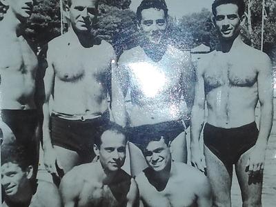Φίλοι και αθλητές στον ΝΟΠ τη δεκαετία του 40