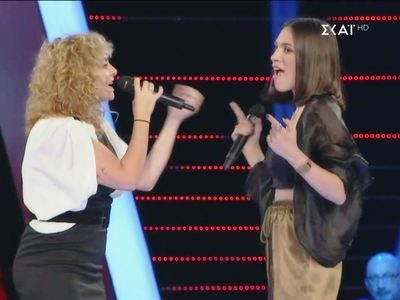 The Voice: Διαγωνιζόμενη έκανε ντουέτο μ...