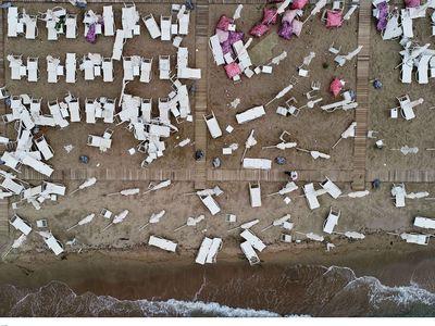 Χαλκιδική: Η δορυφορική «ακτινογραφία» της φονικής καταιγίδας