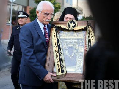 Έφτασε η εικόνα της Παναγίας Σουμελά στην Πάτρα - Συγκινητικές στιγμές στην υποδοχή της - ΦΩΤΟ και ΒΙΝΤΕΟ