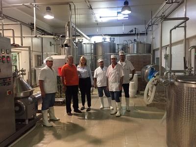"""Τη γαλακτοβιομηχανία """"Πρώτο"""" επισκέφθηκε η υποψήφια βουλευτής Ευσταθία Γιαννιά"""