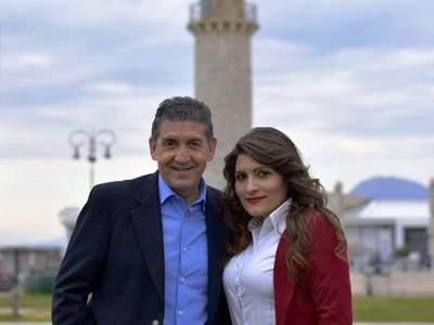 Η Αγγελική Μοσχοπούλου υποψήφια με τον Γρηγόρη Αλεξόπουλο