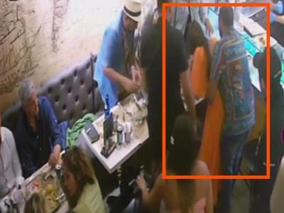 Σερβιτόρος έσωσε τουρίστρια στη Μύκονο που πνιγόταν με το σουβλάκι! ΒΙΝΤΕΟ