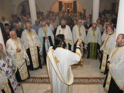 Θεία λειτουργία για την Αγία Όλγα στο ναό της Ορθοδόξου Ιεραποστολής στην Πάτρα