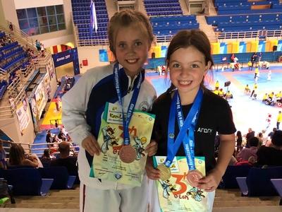 Ο ΑΣ Αγωγή Πατρών κατέκτησε 8 μετάλλια στο Κim e liu - ΦΩΤΟ