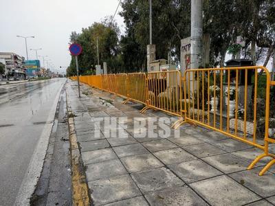 Πάτρα: Έκλεισαν Νότιο Πάρκο και Πλαζ - Τοποθετήθηκαν κάγκελα - ΦΩΤΟ