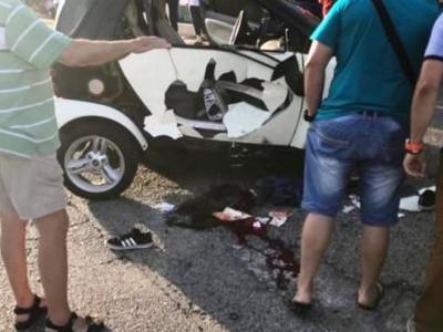 Παναιτώλιο: Μηχανάκι συγκούστηκε με Smart- Τραυματίστηκε σοβαρά ένας άνδρας -ΦΩΤΟ