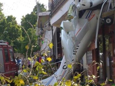 Έπεσε μονοκινητήριο αεροσκάφος στην Πρώτη Σερρών!