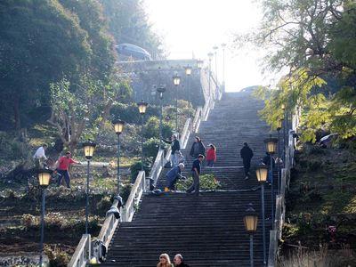 Πάτρα: Αλλάζουν όψη οι σκάλες της Αγίου ...