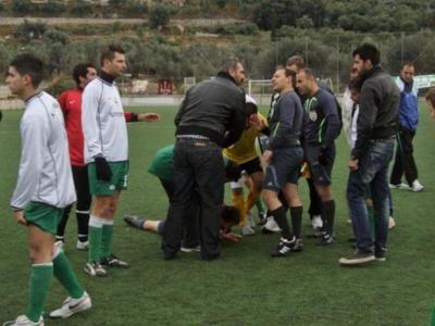 Προς συμβιβασμό, η υπόθεση του ποδοσφαιριστή που χτύπησε διαιτητή