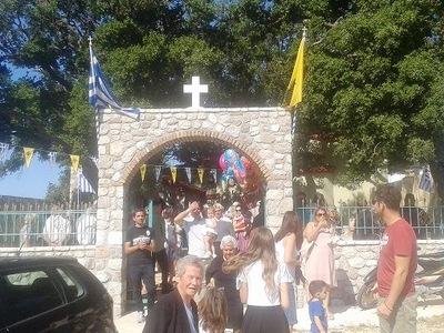 Πλήθος πιστών στο Πουρναρόκαστρο για τον Προφήτη Ηλία