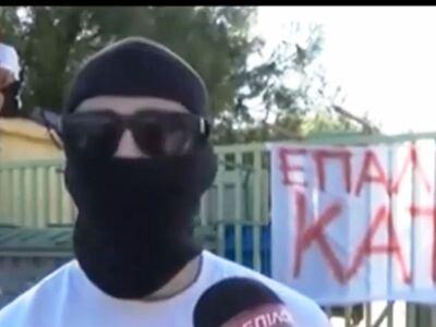 Μαθητής διαμαρτυρήθηκε για τις μάσκες φο...