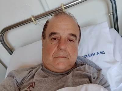 Στο νοσοκομείο ο Παύλος Χαϊκάλης - ΒΙΝΤΕΟ