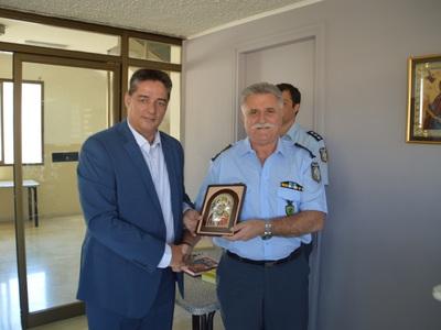 Ανέλαβε και επίσημα ο Νίκος Σπανουδάκης στη Γενική Αστυνομική Διεύθυνση Δυτικής Ελλάδας