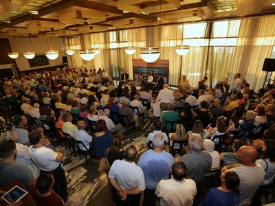Αλεξοπούλου – Μαζική προσέλευση στην εκδήλωση για τη συμφωνία των Πρεσπών