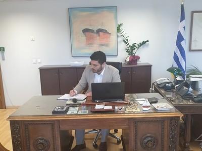 Παραιτήθηκε ο Πατρινός Γ.Γ. του Υπουργείου  Ναυτιλίας Διονύσης Τεμπονέρας