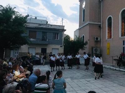 Μουσικοχρευτική εκδήλωση της ενορίας της Αγ. Τριάδας Πατρών