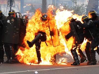 Βρετανία: Ταραχές σε διαδήλωση κατά του ...