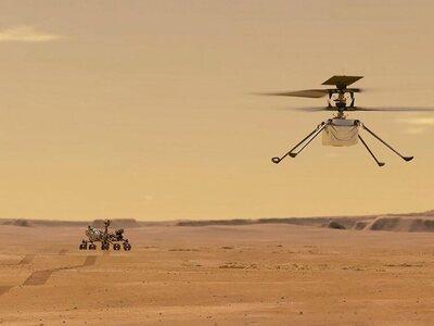 NASA: Το ρομποτικό ελικόπτερο «Ingenuity...