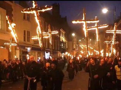 Εορτασμοί στην Αγγλία για τη «Νύχτα της Πυρίτιδας»