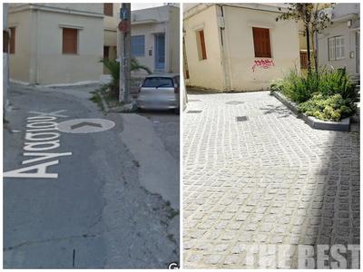 Ο άγνωστος πεζόδρομος που ομόρφυνε μια γειτονιά της Πάτρας – ΦΩΤΟ
