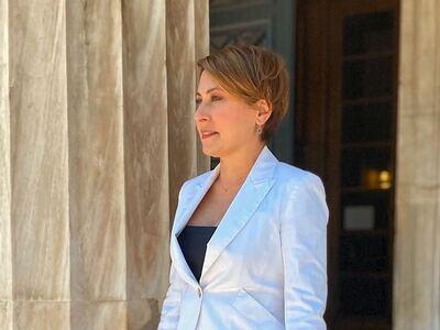 Χριστίνα Αλεξοπούλου: Μήνυμα για την Παγ...