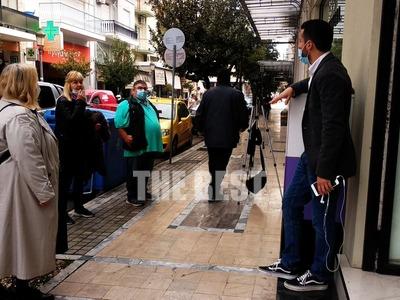 Πάτρα: Άνοιξαν με κηδειόχαρτα και χωρίς να εξυπηρετούν πελάτες τα εμπορικά της πόλης