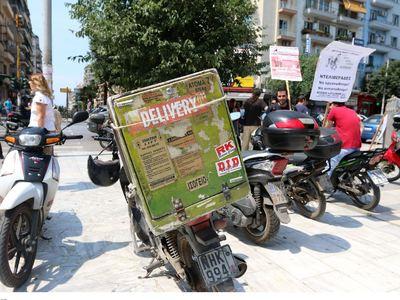 Δυτική Ελλάδα: Έκλεψαν την παραγγελία που μετέφερε ντελιβεράς!