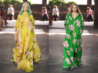 Big dresses: Εκτόπισμα με μαγευτικά λουλ...