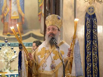 Τιμήθηκε ο Οσιομάρτυρας Παύλος ο Πατρεύς στον Μητροπολιτικό ναό Ευαγγελιστρίας -ΔΕΙΤΕ ΦΩΤΟ
