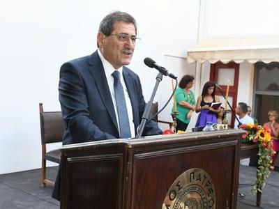 """Κ. Πελετίδης: """"Αγώνας για τη λύση των προβλημάτων""""- Ο πολιτικός όρκος"""
