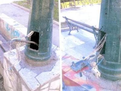 Πάτρα: Δήμος και Αστυνομία ψάχνουν αυτούς που προκαλούν ...φθορές στην πλατεία Όλγας - ΔΕΙΤΕ ΦΩΤΟ και ΒΙΝΤΕΟ