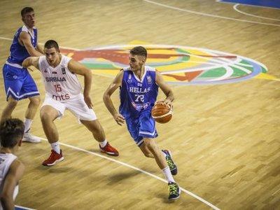 Ήττα της Εθνικής παίδων από τη Σερβία με 77-55