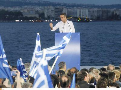 Κ. Μητσοτάκης από Θεσσαλονίκη: Καμία ψήφος σε λάθος κατεύθυνση - ΦΩΤΟ