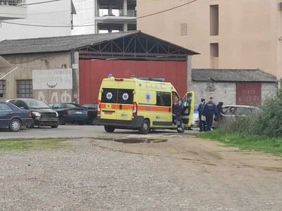 Αγρίνιο: Τροχαίο ατύχημα στη συμβολή οδώ...