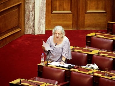 Παραιτήθηκε από βουλευτής του ΚΚΕ η Ελένη Γερασιμίδου