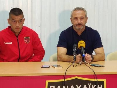 Μπαξεβάνος: «Συγχαρητήρια στους παίχτες μου για την προσπάθεια»