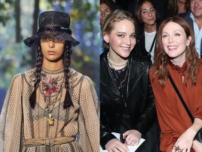 «Προσκύνημα» στο garden show του Dior στο Παρίσι, δείτε πολλές φωτο